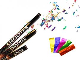 Metallic Confetti Shooter