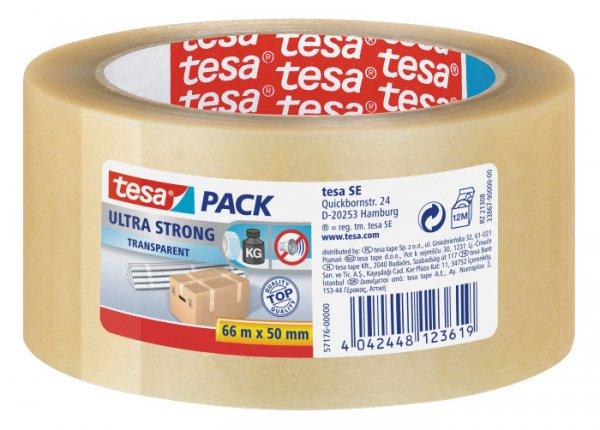 Tesa Deutschland premium pvc adhesive tesapack ultra 4124 transparent 50
