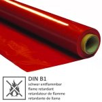 B1 - Deluxe Lackfolie 180my Rot 1,30x30m